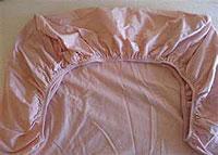 Расход ткани для простыни на резинке