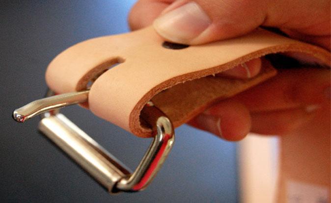Как сделать кожаный ремень своими руками