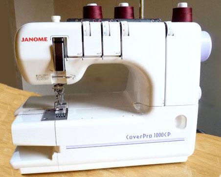 Плоскошовная швейная машина