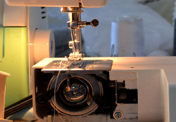 Типы швейных машин