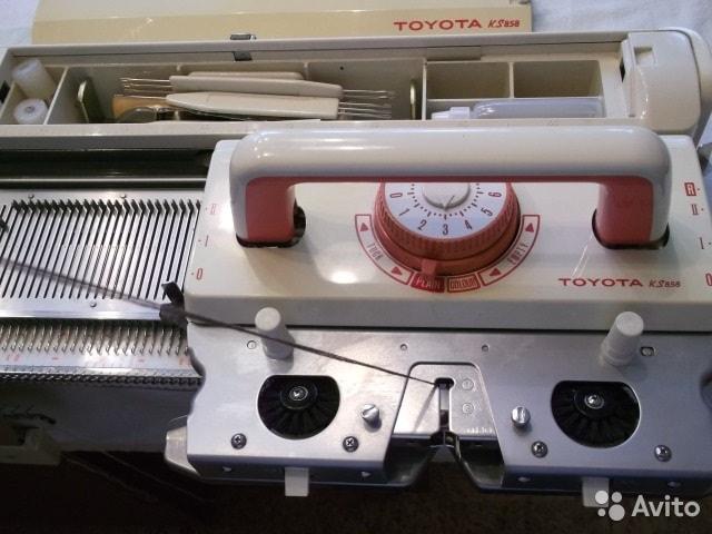 Вязальная машина Toyota KS-858