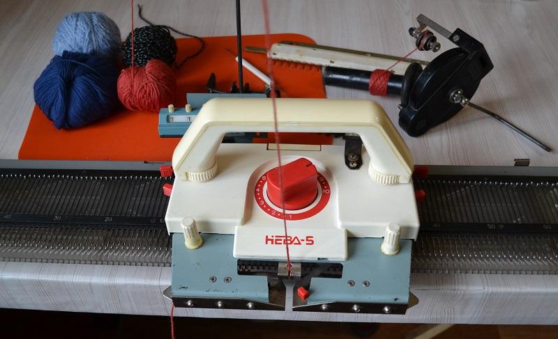 Машинное вязание для начинающих